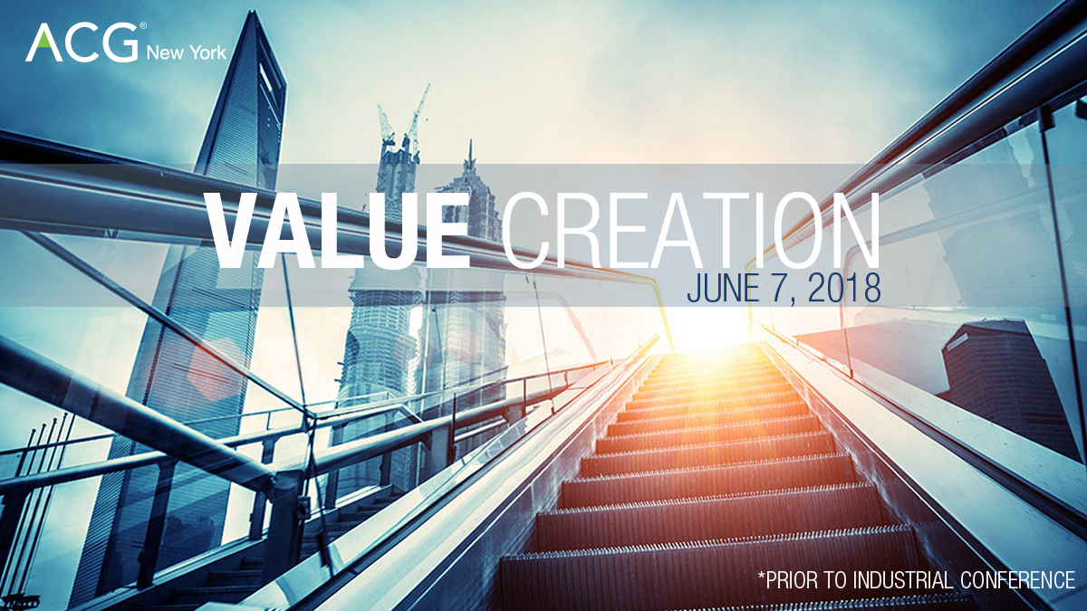 Value Creation 2018 | ACG New York