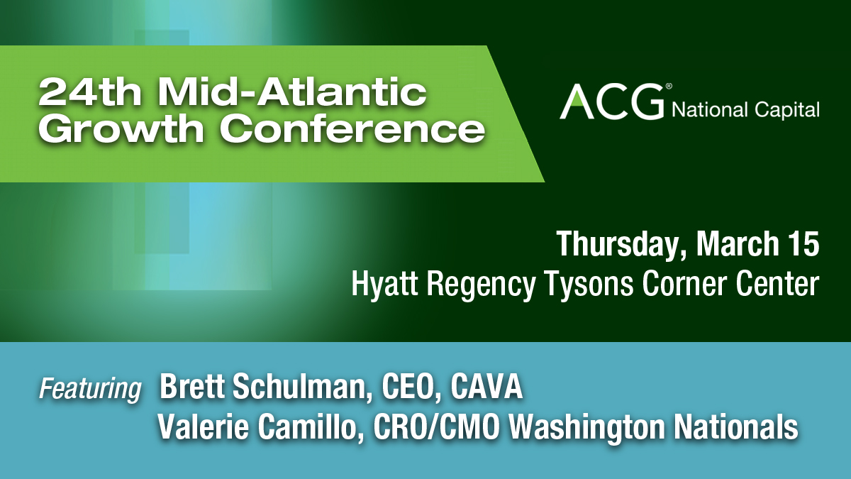 Mid-Atlantic Growth Conference