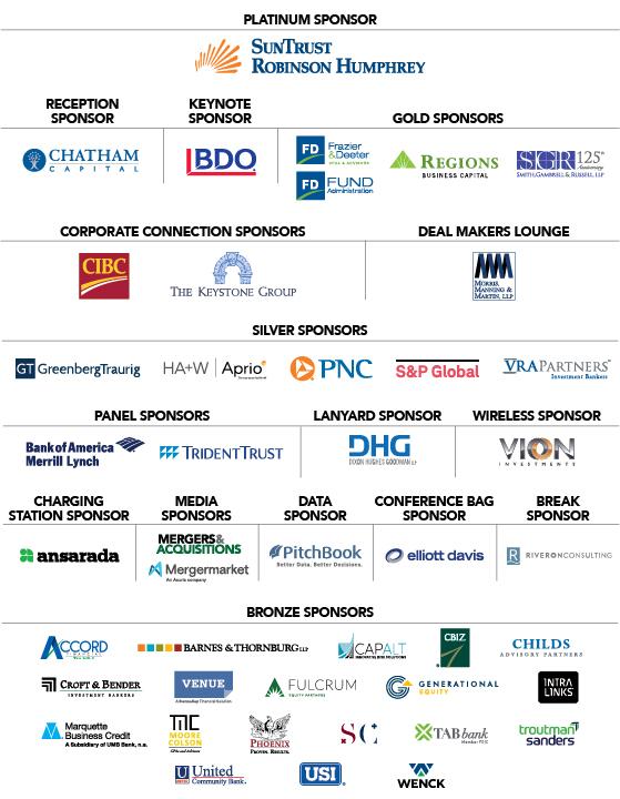 Sponsors | ACG Atlanta