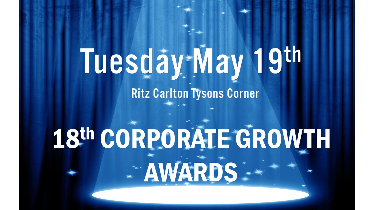 May 19th ACG Corporate Growth Awards