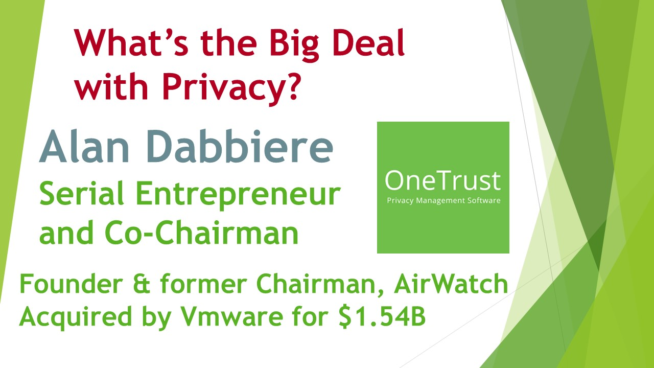 Alan Dabbiere, OneTrust