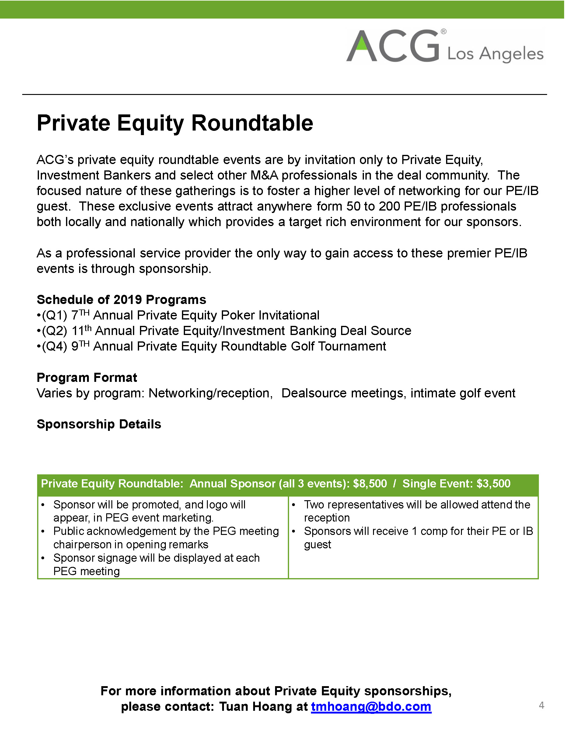 Pleasant Private Equity Roundtable Acg Los Angeles Download Free Architecture Designs Barepgrimeyleaguecom