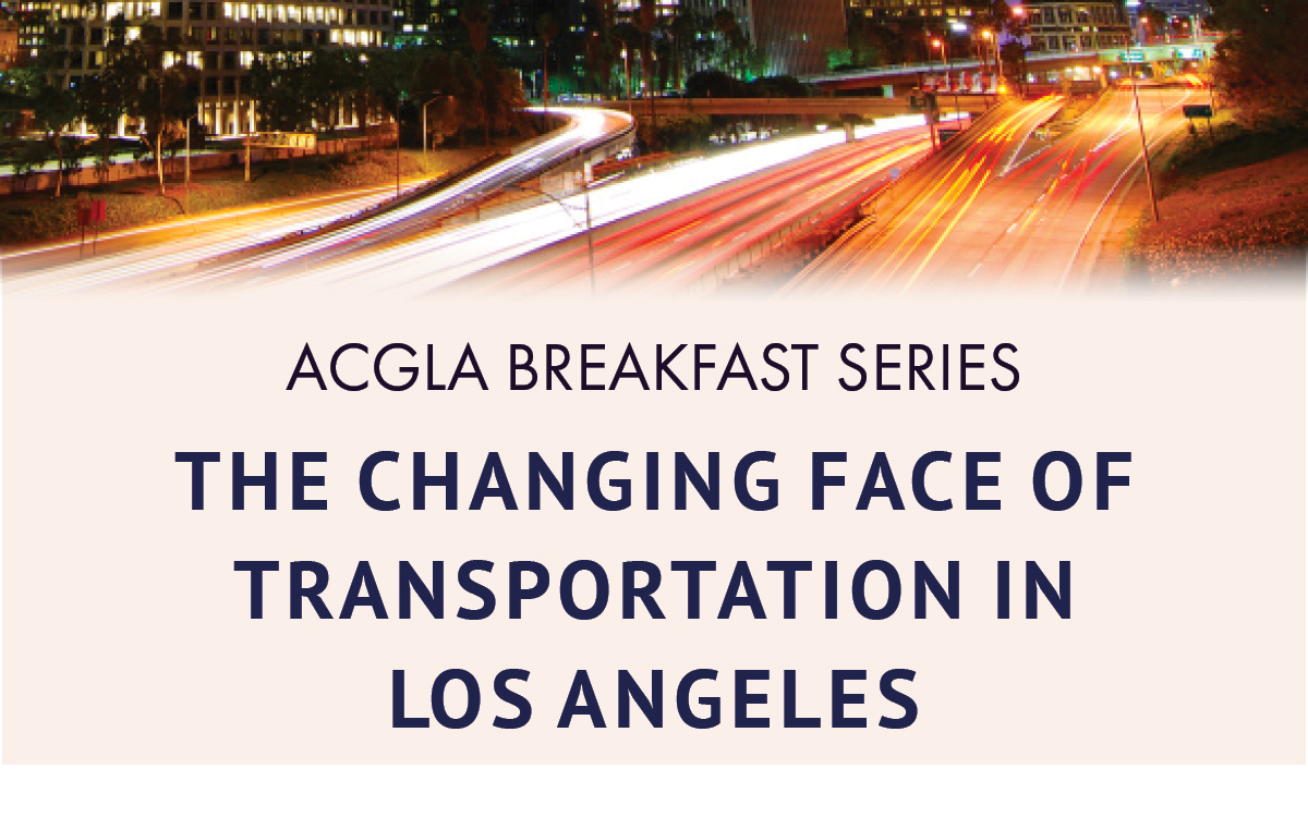 Changing Face of Transportation in Los Angeles