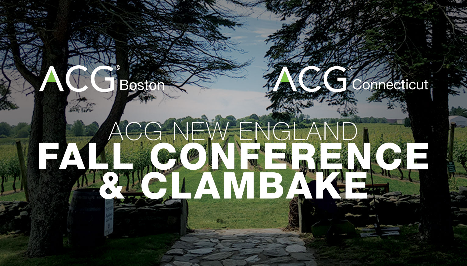 ACG New England Fall Conference & Clambake
