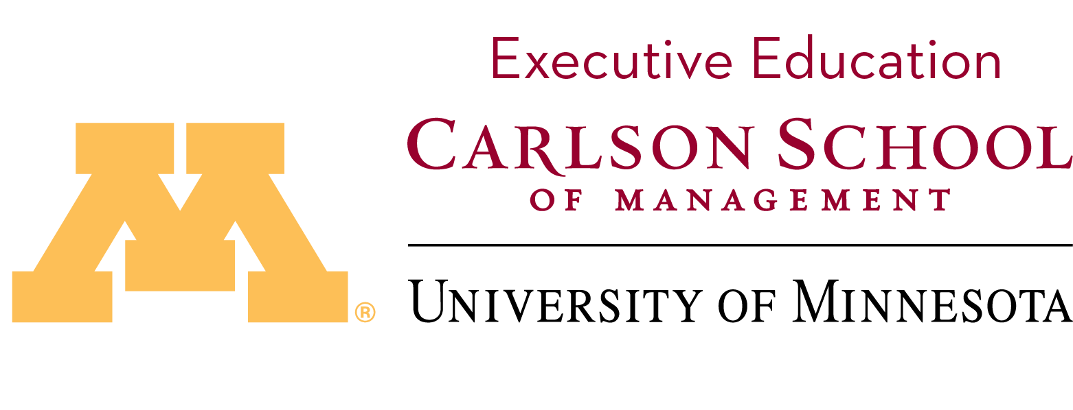 Executive Education Carlson School of Management