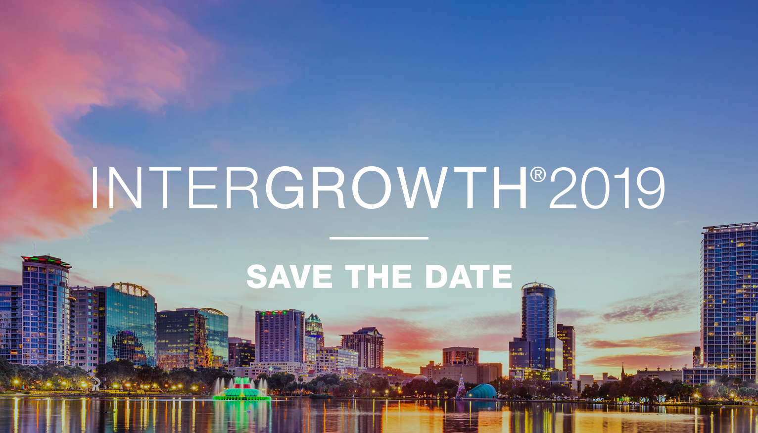 InterGrowth 2019 | Save the Date