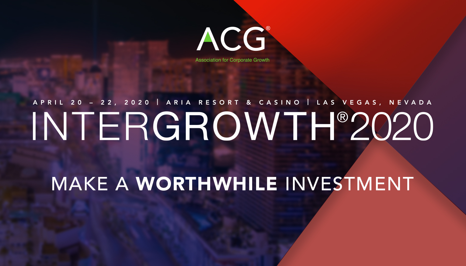 InterGrowth® 2020 | Make a Worthwhile Investment