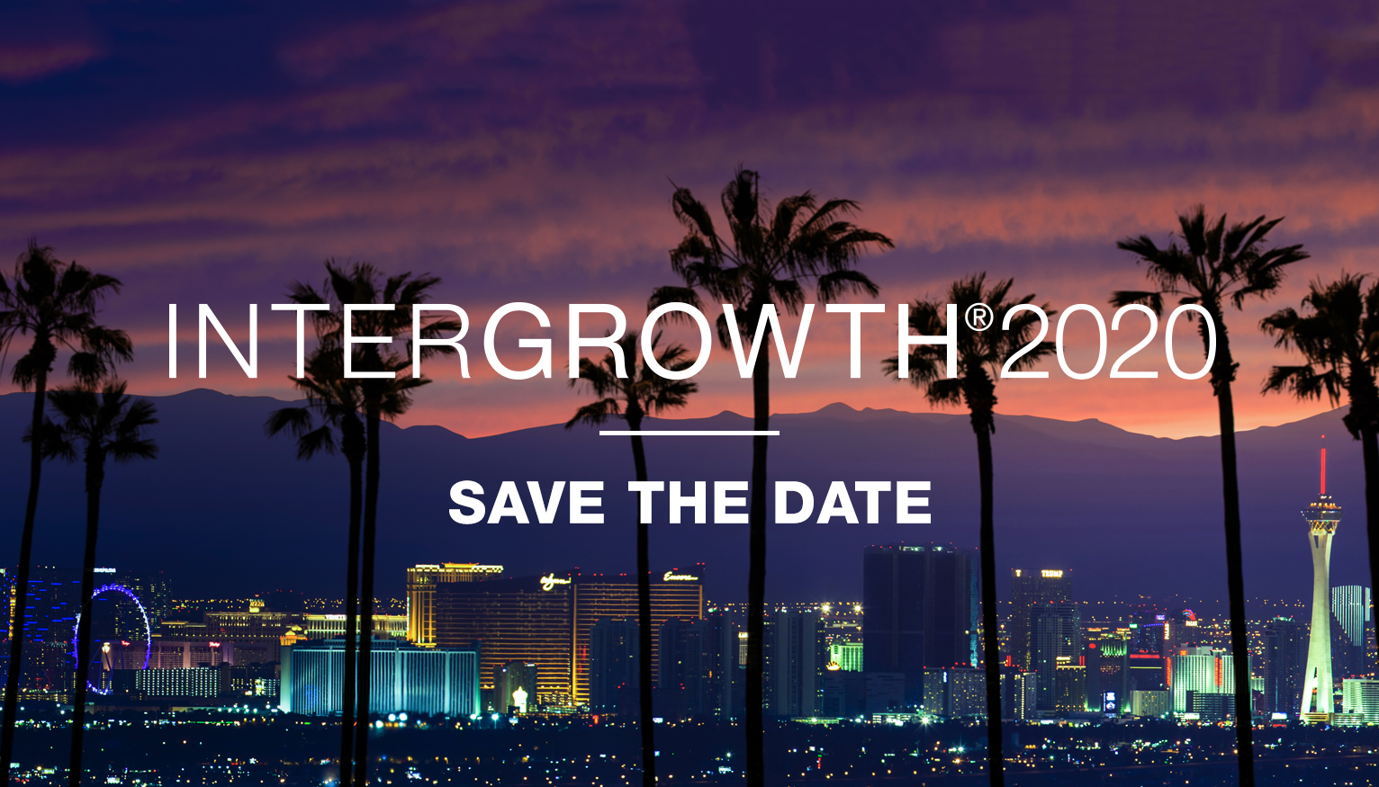 InterGrowth 2020 | Save the Date