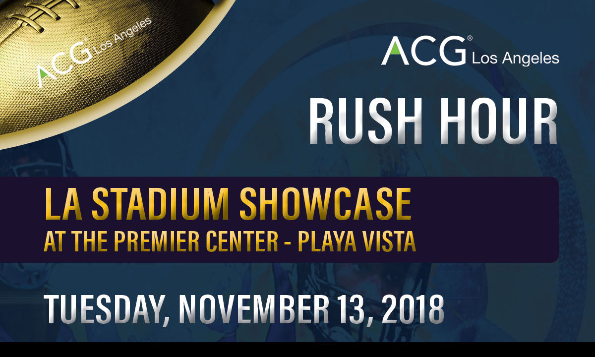 LA Stadium Showcase Nov 13 2018