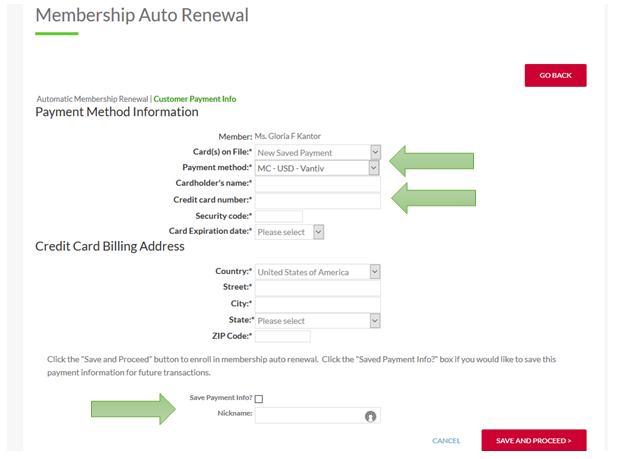 Membership - Auto Renewal | ACG Atlanta