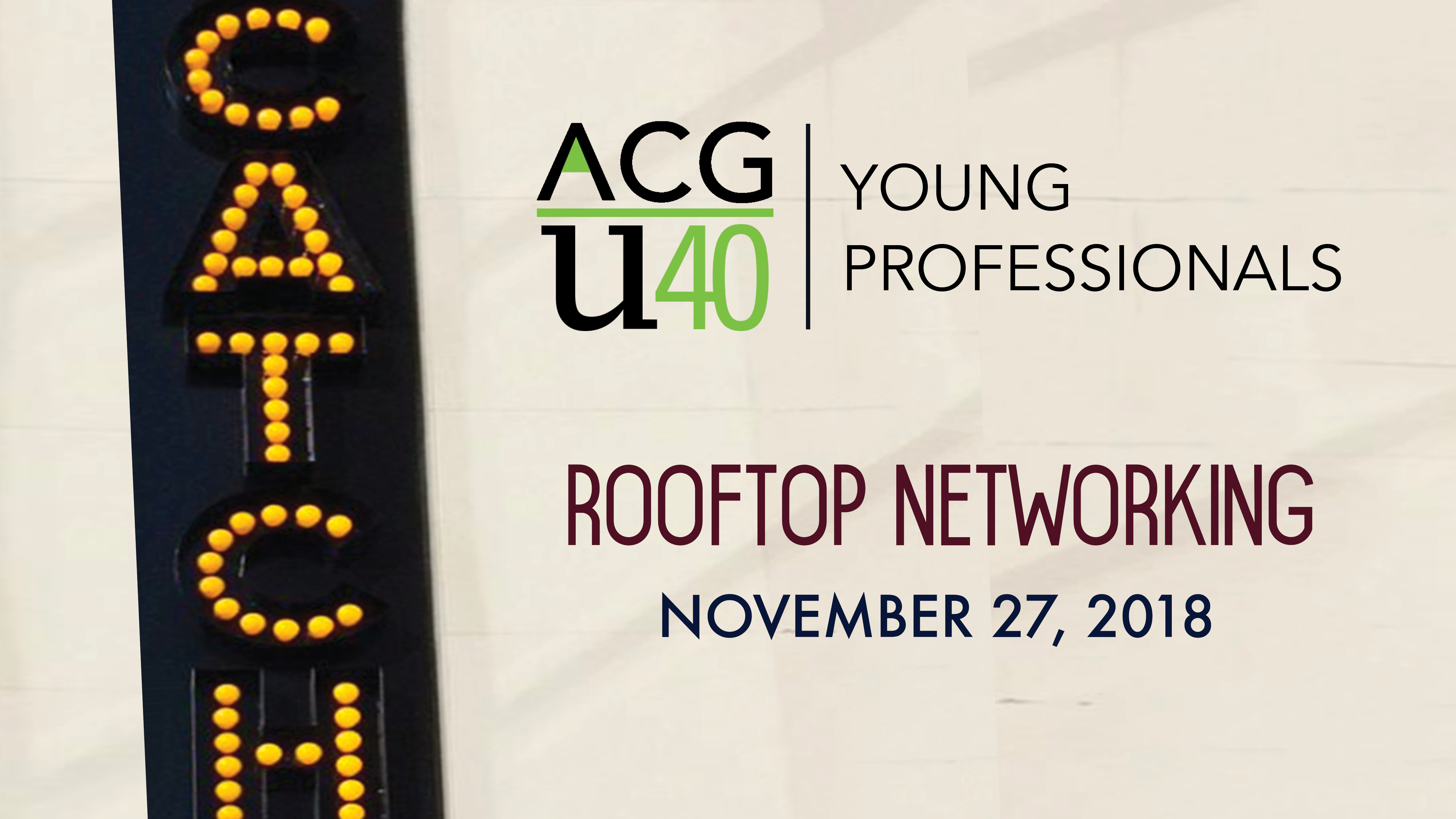 CATCH 11-27-18 Young Professionals U40