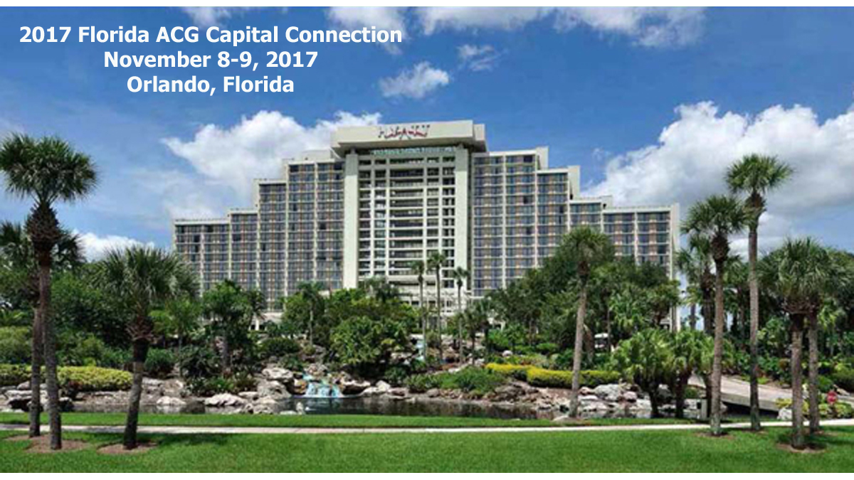 2017 FL ACG Capital Connection