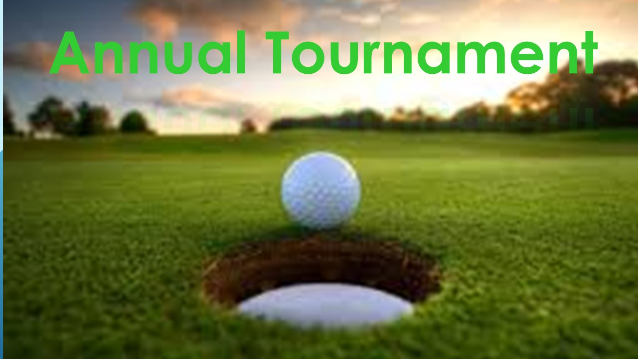 October 15th Golf Event