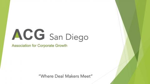 Download ACG San Diego Brochure