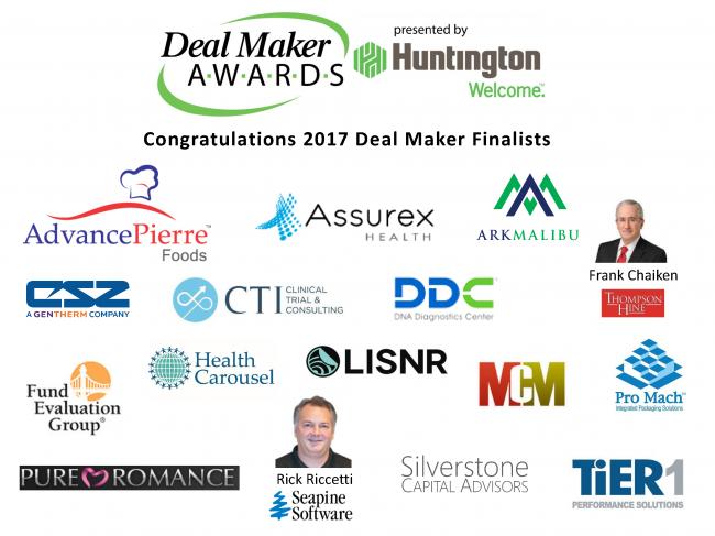 past deal maker award finalists acg cincinnati