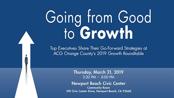 ACG OC Growth Roundtable