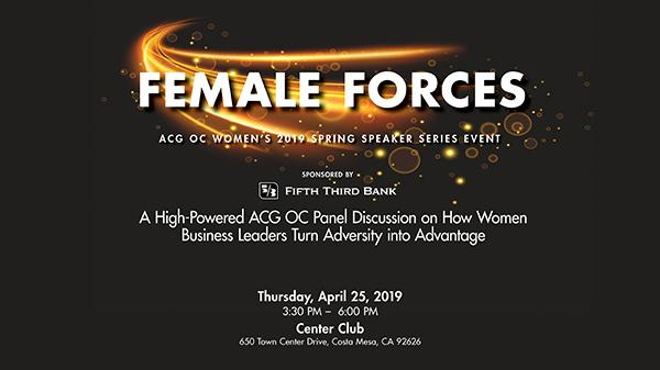 ACG OC April Women's Event