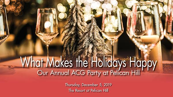 ACG OC Holiday Party at Pelican Hill
