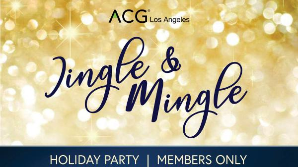 Holiday Party ACGLA Dec 4,2019 Mr. C