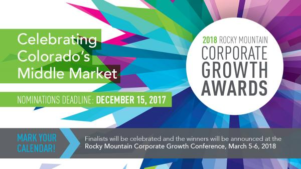 2018 Corporate Growth Awards