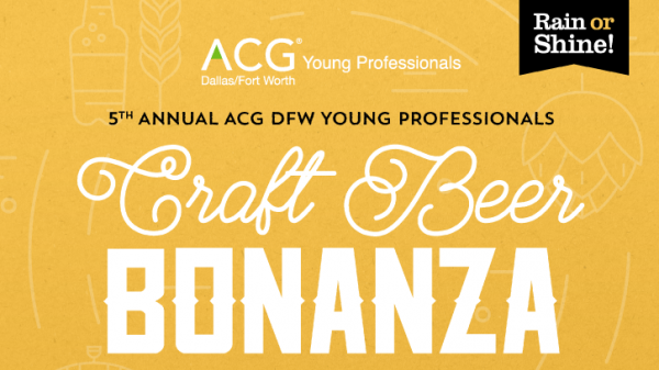 2019 ACG DFW YP Craft Beer Bonanza