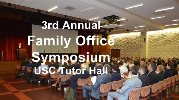 Family Office Oct. 4th 2018