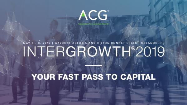 InterGrowth 2019 | Your Fast Pass to Capital