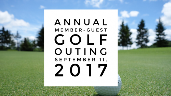 Annual Member Guest Golf Outing