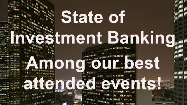 State of Investment Banking Jan 15 2020