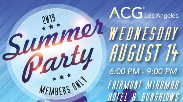 ACG Los Angeles   Association for Corporate Growth