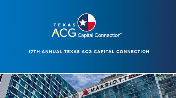 Texas ACG Capital Connection