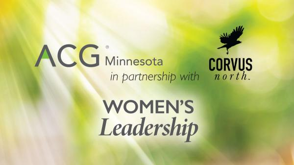 ACG Women's Leadership Series with Corvus North